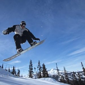 Blackcomb Terrain Park, winter, Whistler, British Columbia, Canada, North America